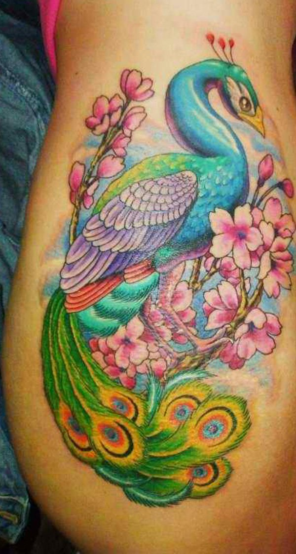 50-Outstanding-Peacock-tattoo-designs-5
