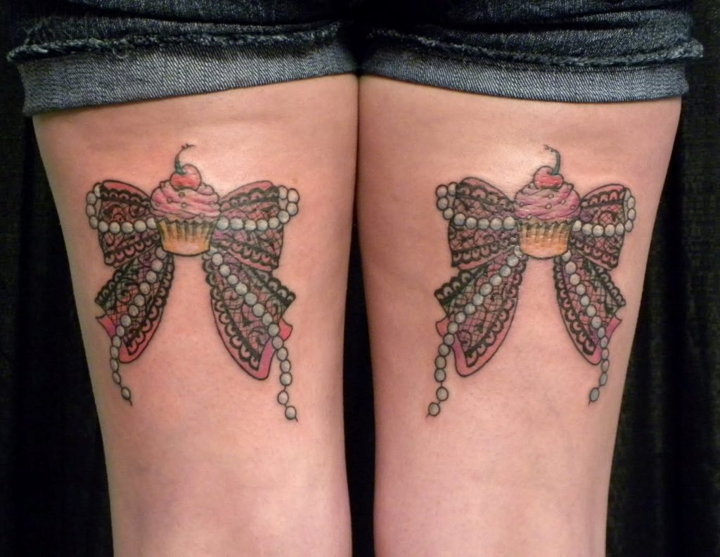Bow-Tattoos-On-Back-of-Legs