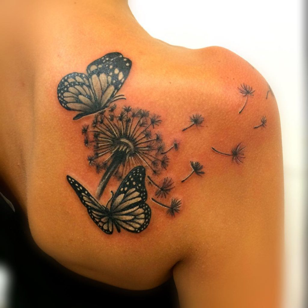 Dandelion Tattoos Designs Ideas And Meaning: Tatuaggio Soffione: Significato E Fotogallery