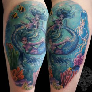 Mermaids Tattoo