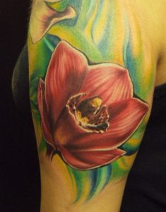 Orchids-Tattoos