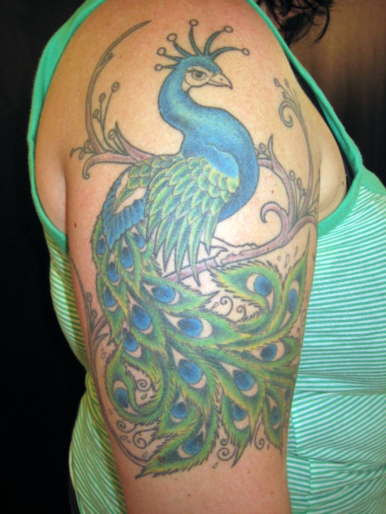 Peacock-Tattoo