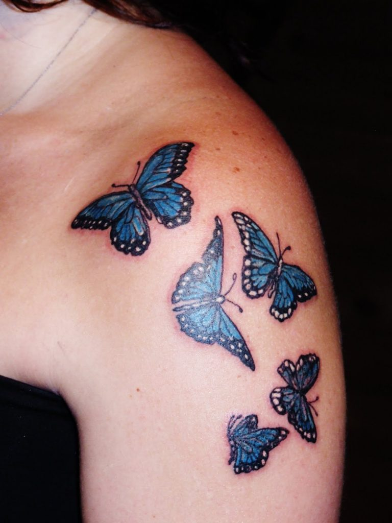 Purple-Butterfly-Tattoos