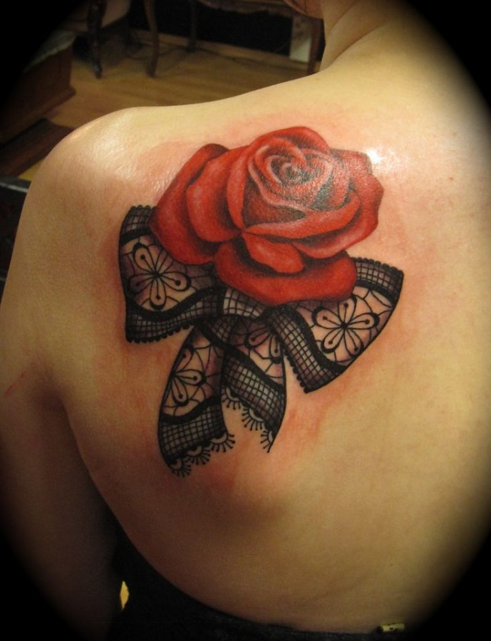 Red-rose-and-bow-lace-tattoo-689x900