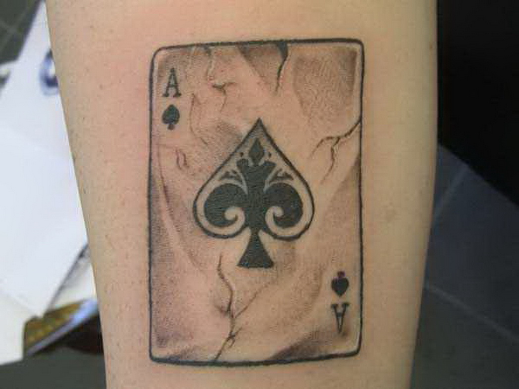 cool tatuaggi carte da poker hh27 pineglen