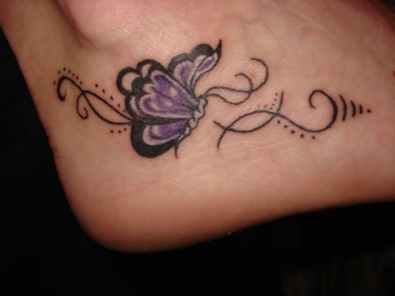 butterfly-tattoo-on-the-foot