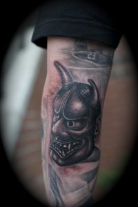 oni-mask-tattoo