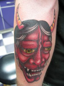 oni tattoo