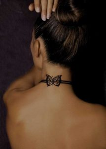 Small-Tattoo on-Neck