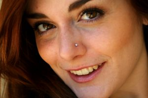 nostril piercing
