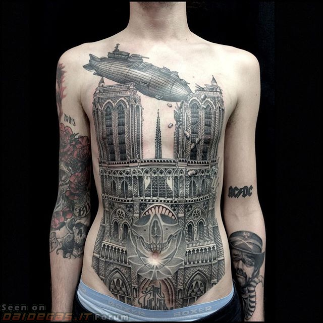 tattoo-iperrealistico-cattedrale